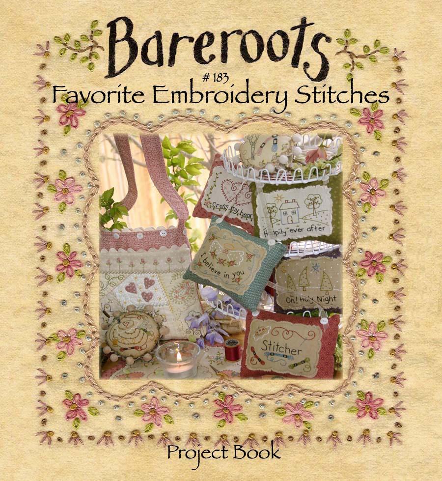 Favorite embroidery stitches book
