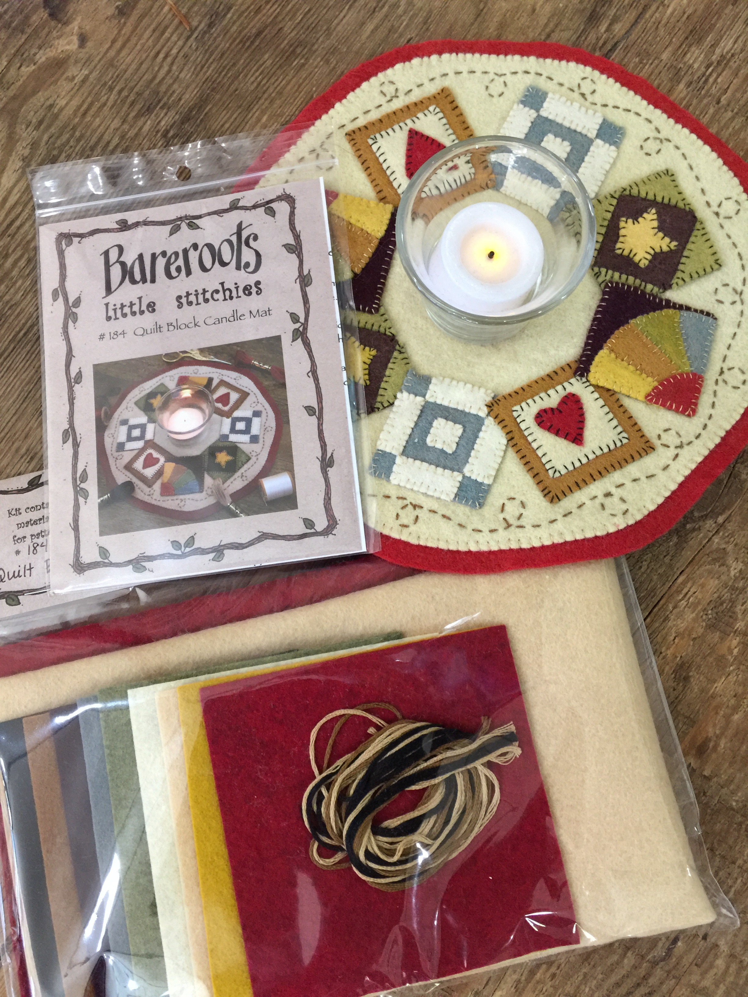 Quilt Blocks Candle Mat : quilt mat - Adamdwight.com